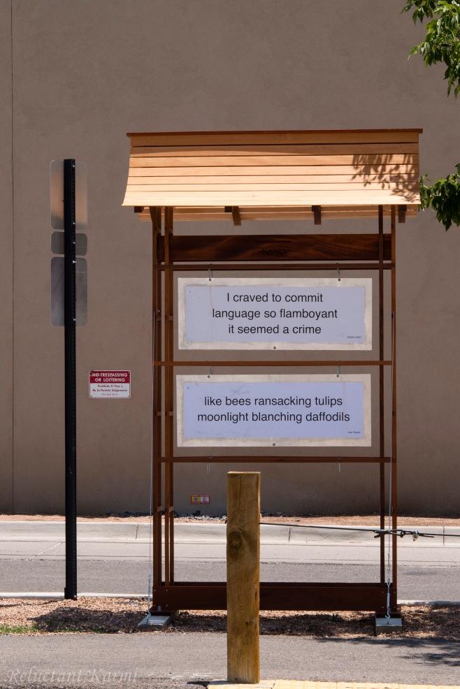 Street signs @ Santa Fe, New Mexico  1