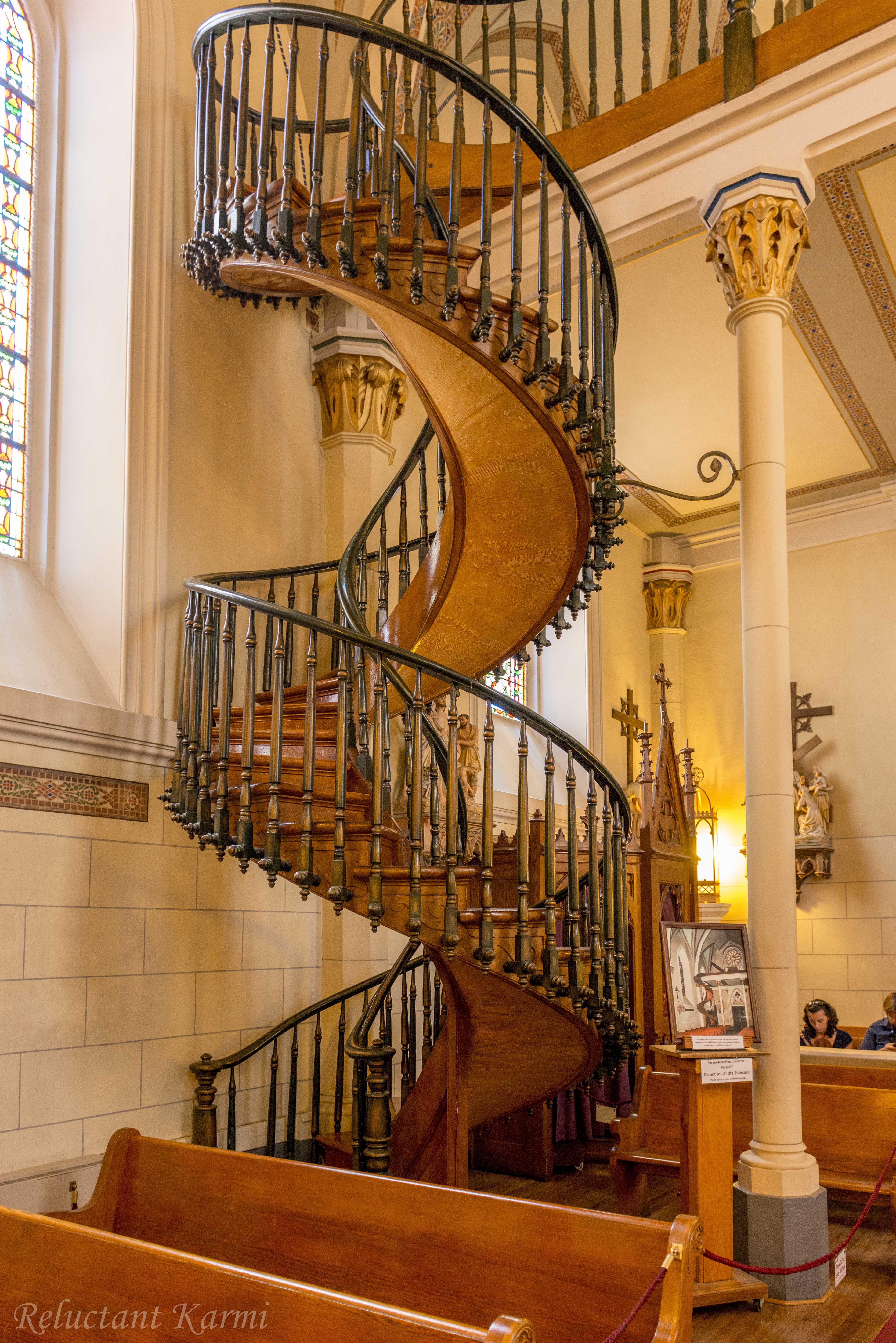 Miraculous Staircase Loretto Chapel Santa Fe New
